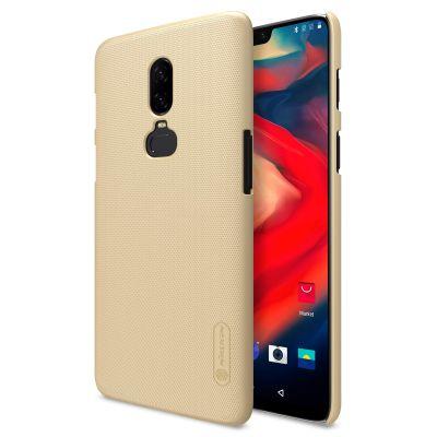 Клип-кейс Nillkin для Xiaomi Oneplus 6 Gold (Золотой)