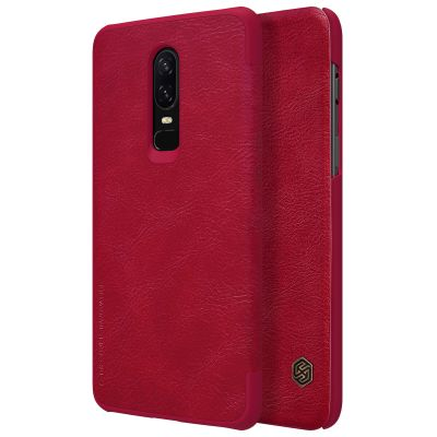 Nillkin Qin Case для OnePlus 6 Red (Красный)