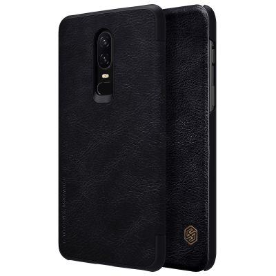 Nillkin Qin Case для OnePlus 6 Black (Черный)