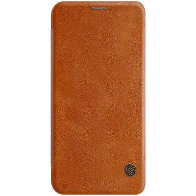 Nillkin Qin Case для Pocophone F1 Brown (Коричневый)