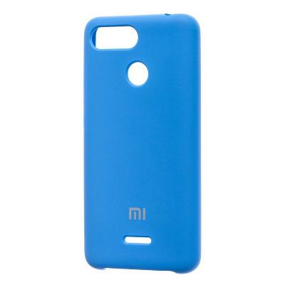 Клип-кейс Soft Touch для  Xiaomi Redmi 6 Синий