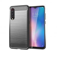 Карбоновый чехол для Xiaomi Mi 9 Серый