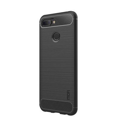 Карбоновый чехол для Xiaomi Mi 8 Lite Черный