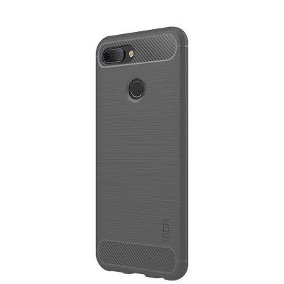 Карбоновый чехол для Xiaomi Mi 8 Lite Серый