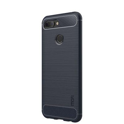 Карбоновый чехол для Xiaomi Mi 8 Lite Синий