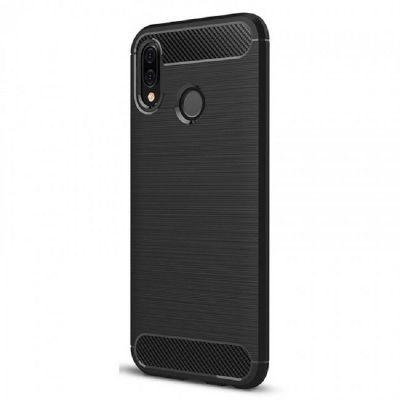 Карбоновый чехол для Xiaomi Mi A2 Серый