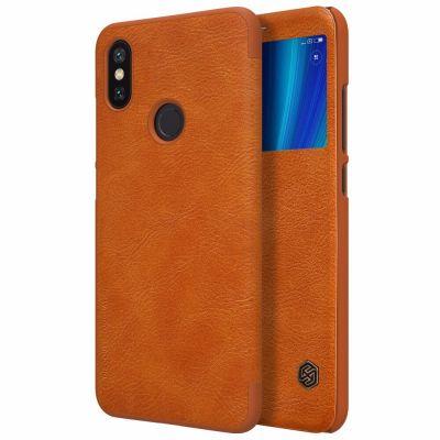 Nillkin Qin Case для Xiaomi Mi A2 / Mi 6x Коричневый
