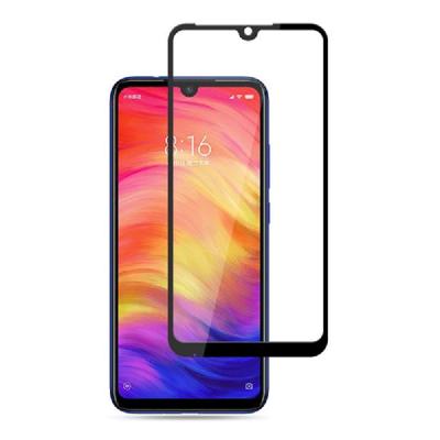 Защитное стекло для Xiaomi Mi Play (полное покрытие) Черное