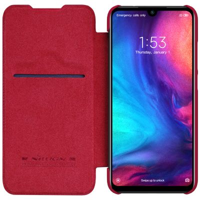 Nillkin Qin Case для Redmi Note 7 Красный