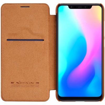 Nillkin Qin Case для Xiaomi Mi 8 Коричневый