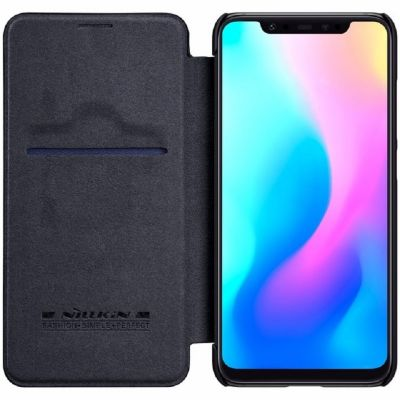 Nillkin Qin Case для Xiaomi Mi 8 Черный