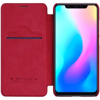 Nillkin Qin Case для Xiaomi Mi 8 Красный