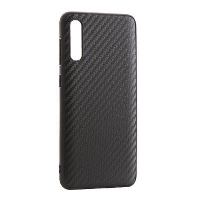 Силиконовый чехол для Samsung Galaxy A30s Карбон