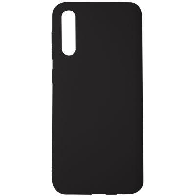 Силиконовый чехол для Samsung Galaxy A30s Черный