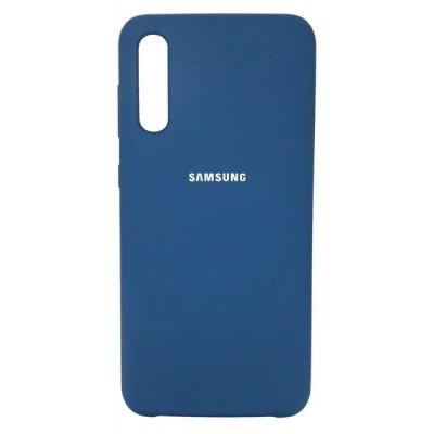 Клип-кейс Soft Touch для Samsung Galaxy A30s Синий