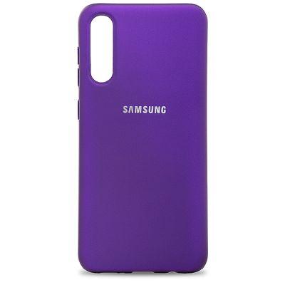 Клип-кейс Soft Touch для Samsung Galaxy A30s Фиолетовый