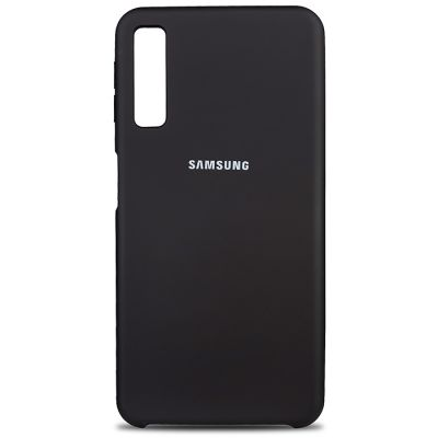 Клип-кейс Soft Touch для Samsung Galaxy A30s Черный
