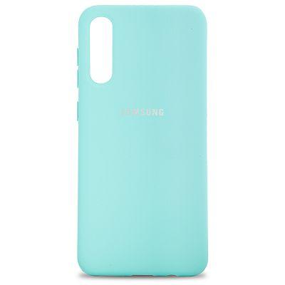 Клип-кейс Soft Touch для Samsung Galaxy A30s Бирюзовый