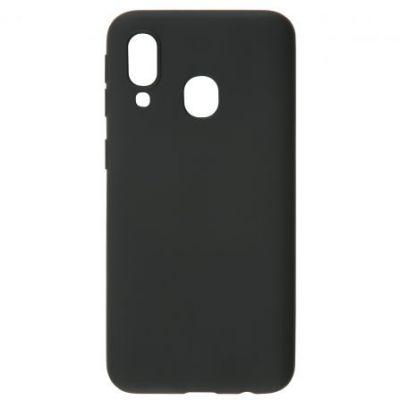 Чехол силиконовый матовый для Samsung Galaxy A40