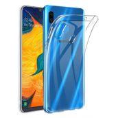 Чехол силиконовый прозрачный для Samsung Galaxy A40