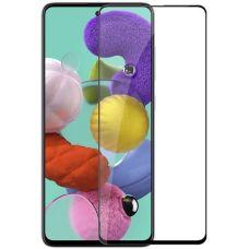 Защитное стекло Samsung Galaxy A51 Черное