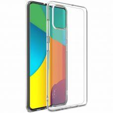 Чехол силиконовый прозрачный для Samsung Galaxy A51