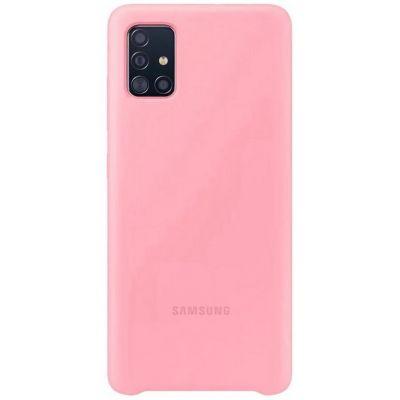 Клип-кейс Soft Touch для Samsung Galaxy A51 Розовый