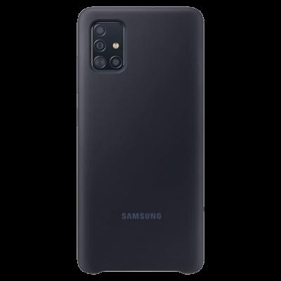 Клип-кейс Soft Touch для Samsung Galaxy A51 Черный
