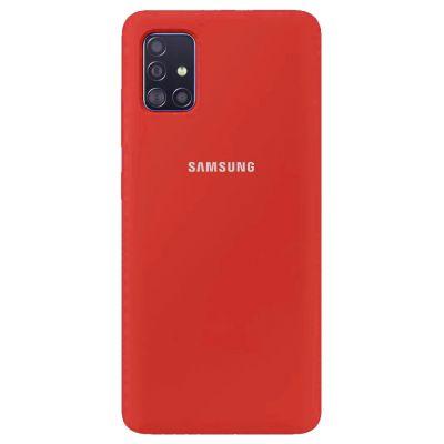 Клип-кейс Soft Touch для Samsung Galaxy A51 Красный