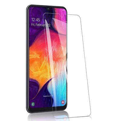 Защитное стекло прозрачное для Samsung Galaxy A70