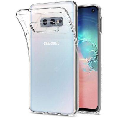 Чехол силиконовый прозрачный для Samsung Galaxy S10E