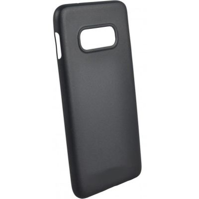 Чехол силиконовый матовый для Samsung Galaxy S10E Черный