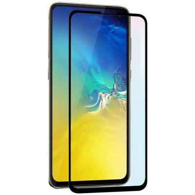 Защитное стекло полное покрытие для Samsung Galaxy S10E Черное