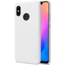 Клип-кейс Nillkin для Xiaomi Mi 8 White (Белый)