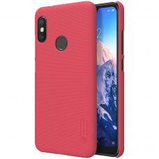 Клип-кейс Nillkin для Xiaomi Mi A2 lite / Redmi 6 pro Red