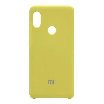 Клип-кейс Soft Touch для Xiaomi Redmi Note 5 Желтый