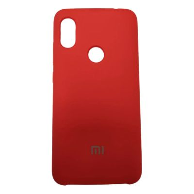Клип-кейс Soft Touch Xiaomi Redmi Note 6 Pro Красный