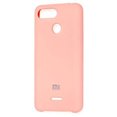 Клип-кейс Soft Touch для  Xiaomi Redmi 6 Розовый
