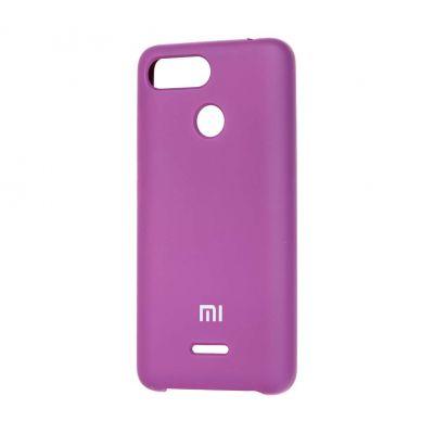 Клип-кейс Soft Touch для  Xiaomi Redmi 6 Фиолетовый