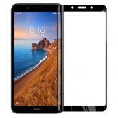 Защитное стекло черное для Xiaomi Redmi 7A