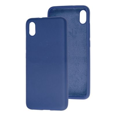 Клип-кейс Soft Touch для Redmi 9A Синий