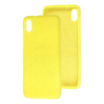 Клип-кейс Soft Touch для Redmi 9A Желтый