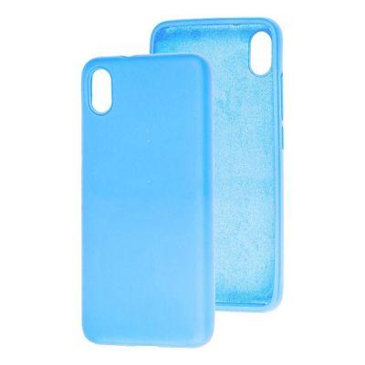 Клип-кейс Soft Touch для Redmi 9A Голубой