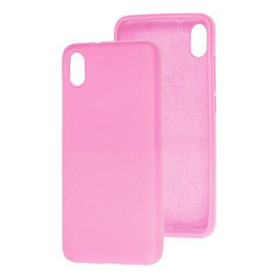 Клип-кейс Soft Touch для Redmi 9A Розовый