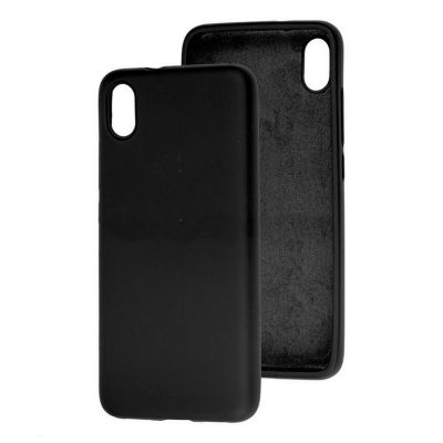 Клип-кейс Soft Touch для Redmi 9A Черный