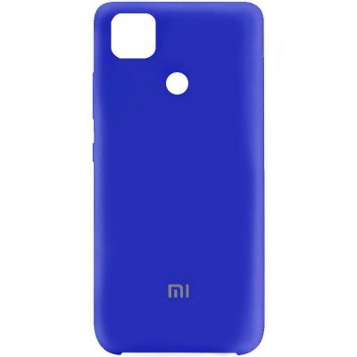 Клип-кейс Soft Touch для Redmi 9С Синий