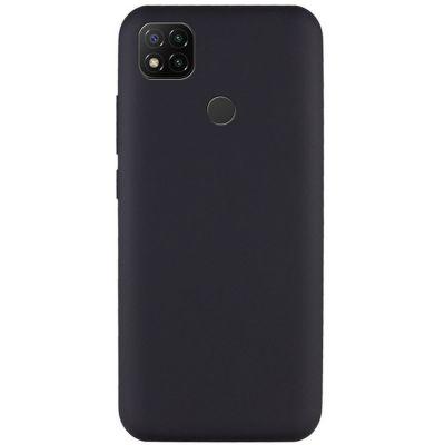 Силиконовый чехол для Redmi 9С Черный