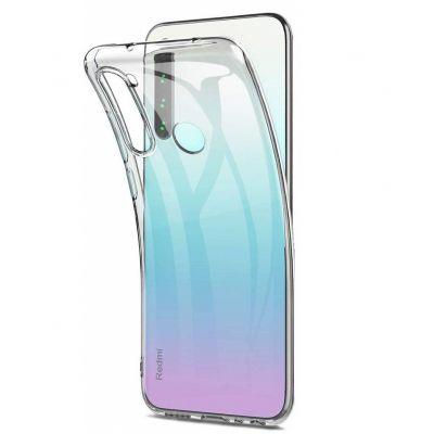 Силиконовый чехол для Redmi Note 8T Прозрачный