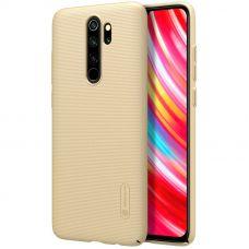 Клип-кейс Nillkin для Redmi Note 8 Pro Золотой