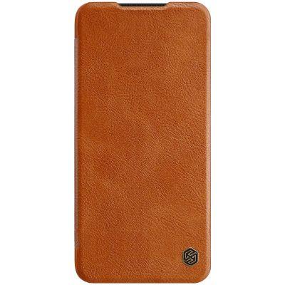 Nillkin Qin Case для Xiaomi Mi Note 10 lite Коричневый